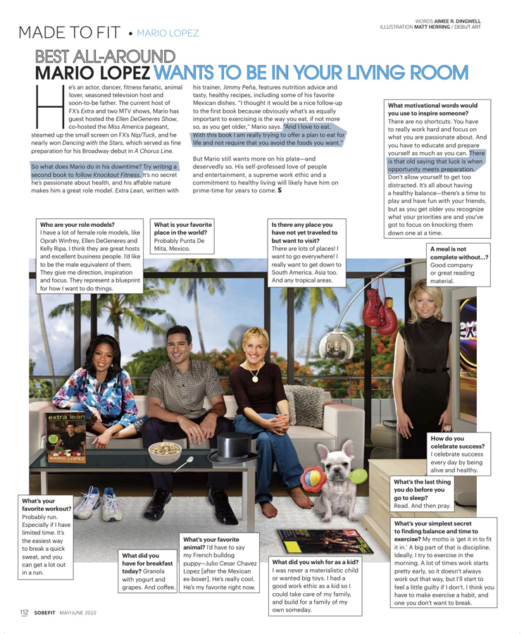 Mario Lopez / Made To Fit