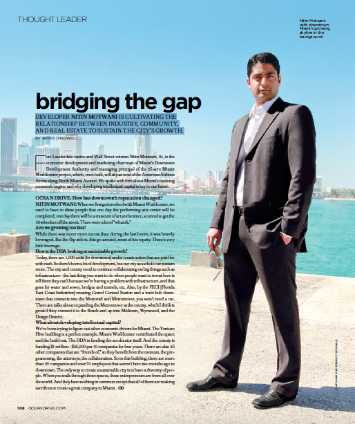 Nitin Motwani / Ocean Drive Magazine
