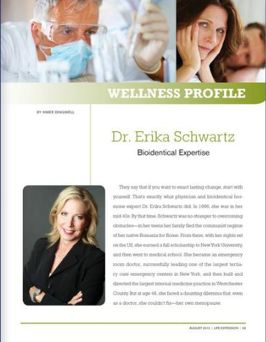Dr. Erika Schwartz - Bioidentical Expertise