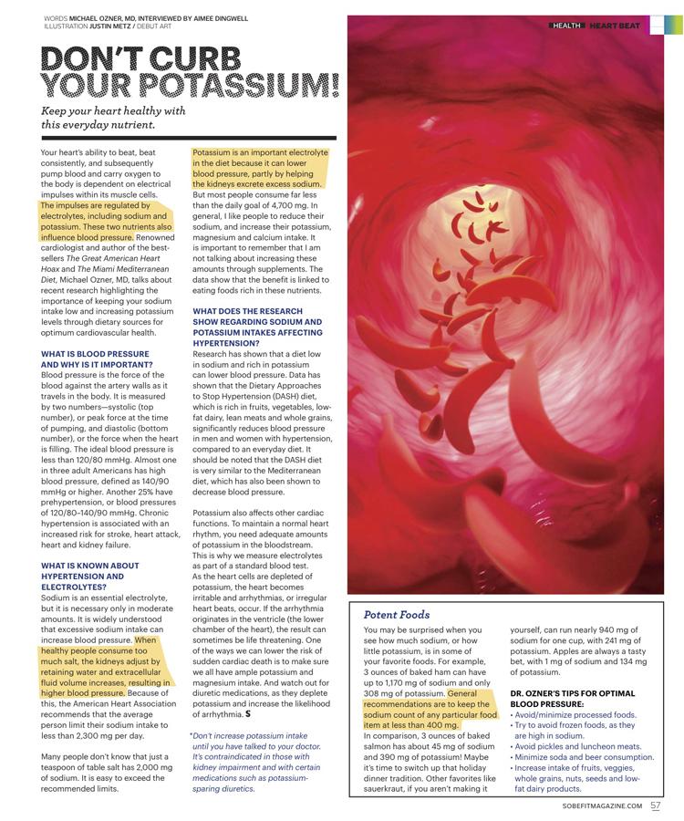 Don't  Curb Your Potassium!
